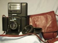 '                       Minox 35EL + Flash + SUPER RARE Red Case ' Minox 35EL + Flash + Case £79.99